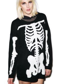 Iron Fist Wishbone Sweater   Dolls Kill