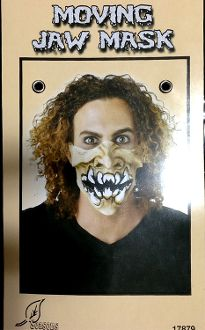 Horror MOVING JAW HALF MASK Halloween Costume Accessory-MONSTER - http://www.horror-hall.com/Horror-MOVING-JAW-HALF-MASK-Halloween-Costume-Accessory-MONSTER-HH-SU-17879-MONSTER.htm