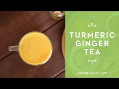 I hope you had a chance to try my Iced Turmeric Ginger Latte. I sipped on it all summer long, even when I was in Austria! Luckily, I managed to find a heal Spicy Drinks, Yummy Drinks, Joyous Health, Health Benefits Of Ginger, Turmeric Tea, Ginger Tea, Healing Herbs, Smoothies, Healthy Recipes