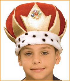 Costume Crowns Kids Kings Crown HalloweenCostumes4u.com