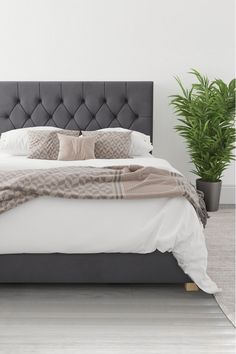 Buy Aspire Olivier Ottoman Bed from the Next UK online shop Ottoman Storage Bed, Ottoman Bed, Upholstered Ottoman, Master Bedroom Interior, Room Ideas Bedroom, Bedroom Decor, Bedroom Inspo, Bedroom Furniture, Master Bedrooms