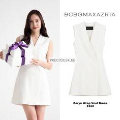 Krystal, Winter White, Dresses For Work, Coat, Jackets, Instagram, Fashion, Down Jackets, Moda