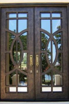 Appreciate the modern design of our contemporary doors. Transform your entryway with custom contemporary doors by Clark Hall. Window Grill Design Modern, Window Design, Main Entrance Door Design, Entrance Doors, Iron Front Door, Front Entry, Front Doors, Entry Doors For Sale, Welcome Signs Front Door