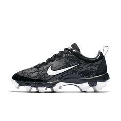 6ac15ffe43c3 Nike Hyperdiamond 2.5 Keystone Women s Softball Cleat Size 9.5 (Black)