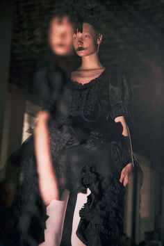 Comme Des Garcons SS14, photographed by Lea Colombo for Dazed and Confused. Pinned by Modeconnect.com