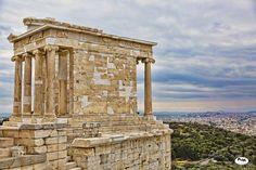 Temple to Nike Athena - Acropolis, Athens, Greece. Winner of Urban Athens Collective June photo contest. Acropolis, Athens Greece, Photo Contest, Temple, Awards, June, Urban, Image, Arquitetura