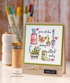 You have to check out Wanda's top picks for spring on the Simon Says Stamp blog! So much inspiration!