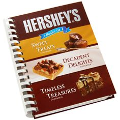 HERSHEY'S 3 in 1 Cookbook  , Never before have so many delectable recipes been brought together between two covers in such a comprehensive compendium of chocolate goodness.