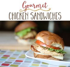 Make these ultimate chicken sandwiches ahead of time for any week night! This well-seasoned, versatile grilled chicken also works to top pasta or salads. #freezermeal #realfood #thrivinghome