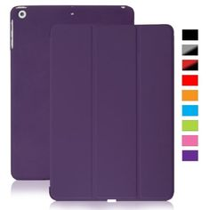 KHOMO iPad Mini / Mini Retina / Mini 3 Case (Released 2014) - DUAL Purple Super Slim Cover with Rubberized back and Smart Feature (Built-in magnet for sleep / wake feature) For Apple iPad Mini Tablet KHOMO http://www.amazon.com/dp/B00A8LPVM8/ref=cm_sw_r_pi_dp_EbLJub1VGRDK9