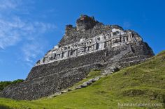 """Xunantunich meaning """"maiden of the rock"""" or """"stone woman"""" in Maya, offers great views from the top of the structure and is easily accessible compared to other ruins."""