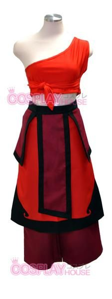 I found 'Fire Nation Katara Cosplay' on Wish, check it out!