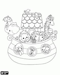 free noah's ark coloring pages | ... ark, : two cute sheeps and ... - Noahs Ark Coloring Pages Print