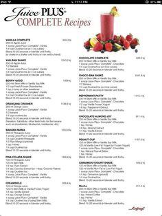 Smoothies using Juice Plus Complete #juiceplus #onlywholefoods #vegan serenaholmes.juiceplus.com