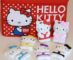'iPhone5 Hello Kitty 3D soft case (pick your color) ' is going up for auction at  1pm Tue, Jun 18 with a starting bid of $1.