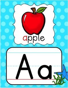 Alphabet posters with alternating black & white and red & white polka dot borders - two sizes provided - half- & full-page versions. Classroom Labels, Preschool Classroom, Classroom Themes, Jolly Phonics Activities, Montessori Activities, Alphabet Activities, Student Picture, Alphabet Posters, Superhero Coloring