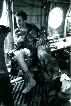 """H Co, 2d Battalion, 5th Marines, Wounded Marines, April 1969 