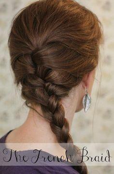 DIY Wedding Hair : DIY Th French Braid