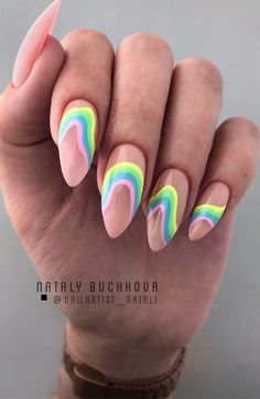 These gorgeous nail art designs are giving us all the manicure inspiration we need for our next manicure. We are obsessed with these fabulous nails. Best Acrylic Nails, Summer Acrylic Nails, Summer Nails, Summer Nail Art, Simple Acrylic Nails, Spring Nails, Minimalist Nails, Nail Swag, Fabulous Nails