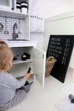 Homevialaura | Nursery | kids room decor | Ikea Duktig play kitchen hack | DIY | Dean & DeLuca goes Dean & DeLittle