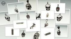 Gallery Wall, Skull, Cool Stuff, Pendant, Frame, Collection, Jewelry, Home Decor, Skull And Crossbones
