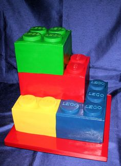 Lego Blocks Cake Design : Maddox s birthday ideas on Pinterest Lego Parties, Lego ...