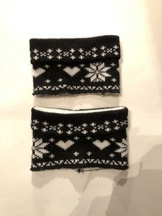 3e647db9d Steve Madden Knitted Leg Warmers Black White Knitted #fashion #clothing # shoes #accessories