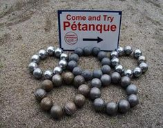 petanque today..