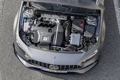 Mercedes-AMG's turbo four could power larger models Mercedes Benz Classes, Van Mercedes, New Mercedes Amg, Ford Focus, Audi A3, Toyota, Amg Car, Porsche Panamera Turbo, Dual Clutch Transmission
