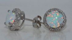 Hey, I found this really awesome Etsy listing at http://www.etsy.com/listing/118785778/2-carat-opal-diamond-stud-earrings-white