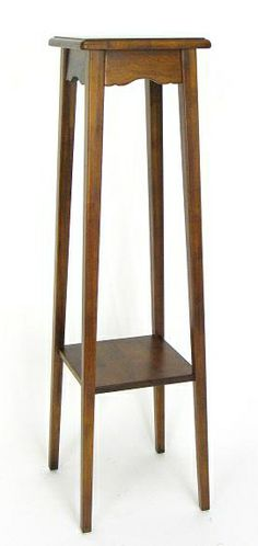 tall plant stand easy up indoor tall plant stand wooden jardin pinterest tall plants. Black Bedroom Furniture Sets. Home Design Ideas