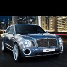 #Bentley SUV concept car