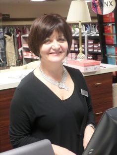 Ms. Robin C., the grand dame of special occasion evening wear at Catan Fashions, the country's largest destination bridal salon. Located just minutes from Cleveland Hopkins Airport www.catanfashions.com
