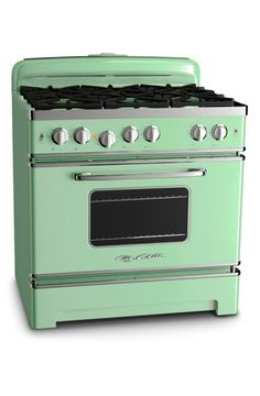 36″ Big Chill Stove. I found my next oven! OMG I am in love