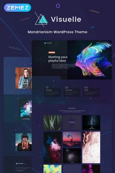 Build an eye-catching and creative portfolio website with an easy to use drag and drop page builder theme. Wordpress Theme Design, Best Wordpress Themes, Creative Portfolio, Portfolio Design, Promotion Strategy, Marketing Techniques, Website Themes, Wordpress Template, Portfolio Website