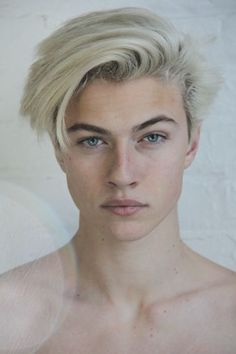 {LBS} Lucky Blue is 17 years old, single and is a loner. Lucky doesn't have a pack, but he soon receives an invitation to join North West Pack. Lucky is sketchy and tends to sneak around, listening, watching. Lucky Blue Smith, Beautiful Boys, Pretty Boys, Beautiful People, Mid Length Hair, Male Face, Haircuts For Men, Cute Guys, Pretty People