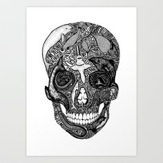 'Death of the Oceans' by Sarah King Art Print by We Are West Coast - $17.68