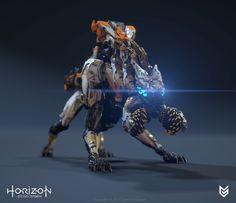 ArtStation - Horizon Zero Dawn - Scrapper, Lennart Franken
