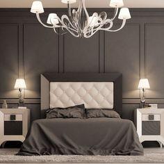 Şafak Çak Modern-Çağdaş Yatak Başı (160x130)