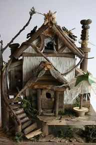 Fairy  houses and fairy furniture
