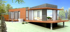 Michelle Kauffman, prefab designer extraordinaire, is at it again. Her newest mkLotus design, a zero-energy prefab home with a long list of green features, will debut at next week's West Coast Green conference in San Francisco with a full-sized showhouse for