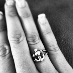 Love my anchor ring from James Avery