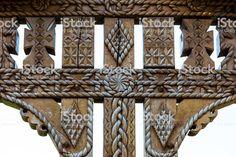 Imagini pentru traditional romanian architecture Valance Curtains, Houses, Traditional, Architecture, Home Decor, Homes, Arquitetura, Decoration Home, Room Decor
