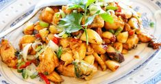 #Szechuan #Kungpao #Chicken   #Dacipriano #AlessandroCipriano #Ciprianogram #Ciprianos #Ciprianosblog  #Alessigram#Alessandrogram #CiprianosKitchen#MyKitchen Asian Chicken, Kung Pao Chicken, Rice Ingredients, Roasted Peanuts, Fresh Ginger, Chinese Food, Spicy, Dishes, Cooking