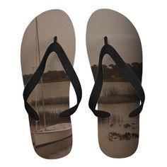 Nostalgic Summer Flip Flops