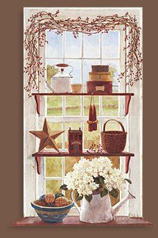 Images Of Country Kitchen Art Prints