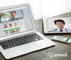 A review of @Amwell a new online telehealth service that lets you consult with doctors, therapists, and nutritionists online in minutes right from your computer, iPhone or iPad #momsloveamwell