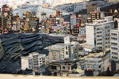Textile Denim Art By Choi So Young