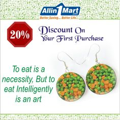 To eat is a necessity, But to eat Intelligently is an art Best Savings, Online Supermarket, Eat