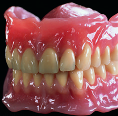 Up close with the finished product - BPS Complete Dentures | showcase from Baluke Dental Canada.